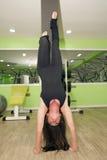 En gymnastique Photo libre de droits