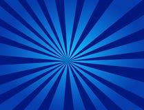 En härlig blå radiell bakgrund royaltyfri illustrationer