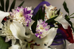 En härlig bukett av blommor Royaltyfri Bild