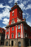 En härlig byggnad i Gotha, Tyskland Royaltyfri Bild