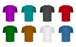 En härlig illustration av designen för modellskjortavektor Arkivfoton