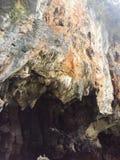 En härlig klippa på Khao Le Kop arkivfoton