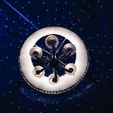 En härlig ljuskrona Royaltyfri Foto
