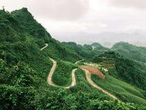 En härlig plats av Ha Giang Arkivbilder