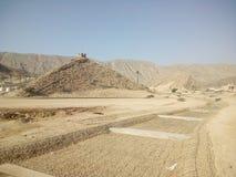 En härlig sikt av kantab, Oman Royaltyfri Bild