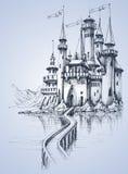 En härlig slott Royaltyfri Fotografi