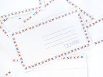 En hög av kuvertet Royaltyfri Fotografi