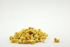 En hög av popcorn Royaltyfri Fotografi