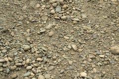 En hög av smutsig stenbakgrund Fotografering för Bildbyråer