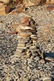 Texturera av den naturliga stenen Arkivbild