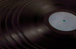 En hög av vinyl Royaltyfri Fotografi