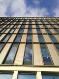 En höjd av en modern byggnad Royaltyfri Fotografi