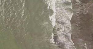 En h?rlig sikt uppifr?n av tempeltanahlotten, indonesia ostravtakt stock video
