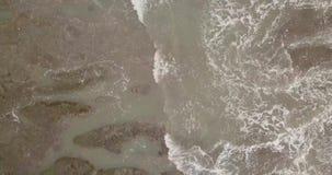 En h?rlig sikt uppifr?n av tempeltanahlotten, indonesia ostravtakt arkivfilmer