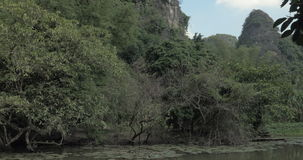 En Hanoi, paisaje escénico de Vietnam almacen de video