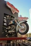 En Harley Davidson Las Vegas Cafe Shot Royaltyfri Bild