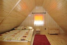 En haut chambre à coucher Photo libre de droits