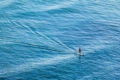 En hawaiansk surfererwaikiki oahu hawaii Royaltyfri Bild