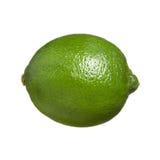 En hel limefrukt royaltyfria bilder