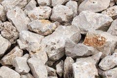 En hög av stenar Royaltyfria Bilder