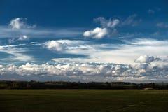 En himmel Arkivbild