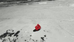 En hink ashore Arkivfoton