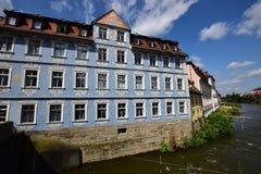 En historisk byggnad i Bamberg, Tyskland arkivfoton