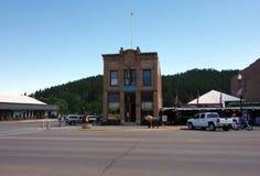 En historisk byggnad i South Dakota royaltyfria foton
