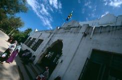 En historisk byggnad i Zanzibar Royaltyfri Foto