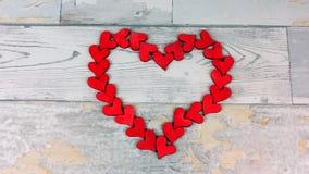 En hjärta av hjärta royaltyfria foton