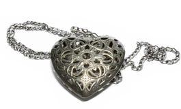 En hjärtaformhalsband Royaltyfria Bilder