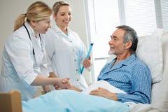 En hospital Imagen de archivo libre de regalías