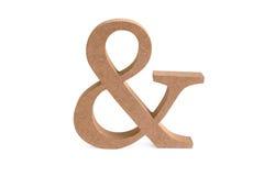 En houten teken Stock Foto