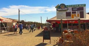 En ingång till Apple Annies, Wilcox, Arizona Royaltyfria Bilder