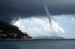 En inkommande bedragare i Dubrovnik, Kroatien Arkivfoto