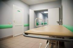 En inre av ett sjukhushall Arkivbilder