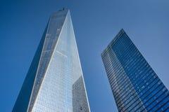 En internationell handelmitt i New York Royaltyfri Bild