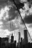 En internationell handelmitt, New York Royaltyfri Bild