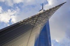 En internationell handelmitt, New York Royaltyfri Fotografi