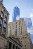 En internationell handelmitt, New York Royaltyfri Foto