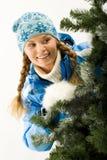 En invierno Foto de archivo libre de regalías