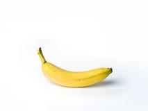 En isolerad banan Fotografering för Bildbyråer