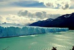 En isvägg Royaltyfria Bilder