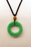En jade för smaragdgräsplan arkivbild