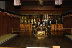 En japansk samling av historia Arkivbild
