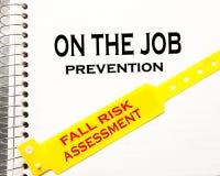 En Job Fall Risk Imagen de archivo