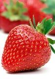 en jordgubbe Arkivbilder