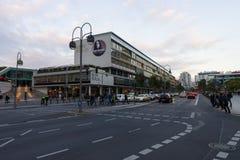 En köpcentrum i västra - berlin, bikini-Haus Arkivfoton