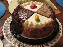 En kaka som gör ditt munvatten royaltyfria bilder