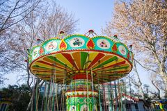 En karusell Royaltyfria Foton